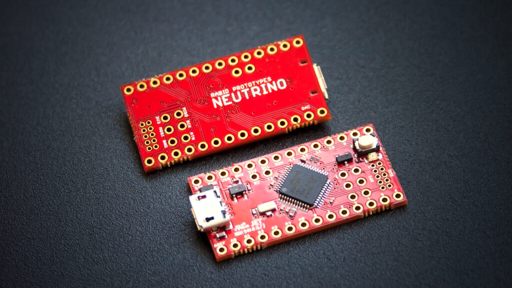 Neutrino 3.0: The 32-bit Arduino Zero compatible!