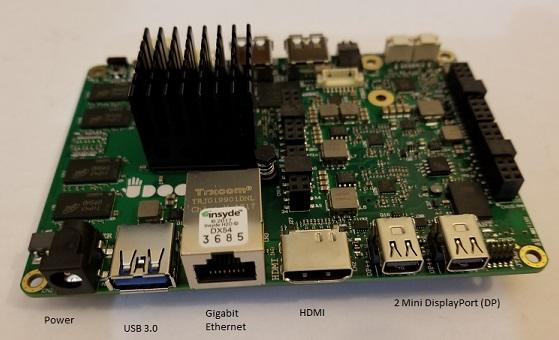 UDOO X86 Microboard Breakdown