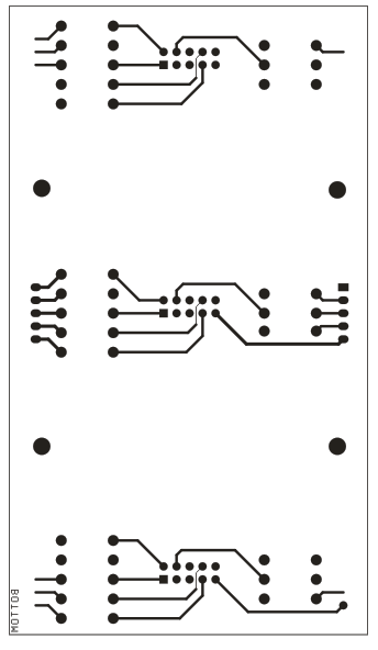 72 channels serial to parallel driver board using 74hc595