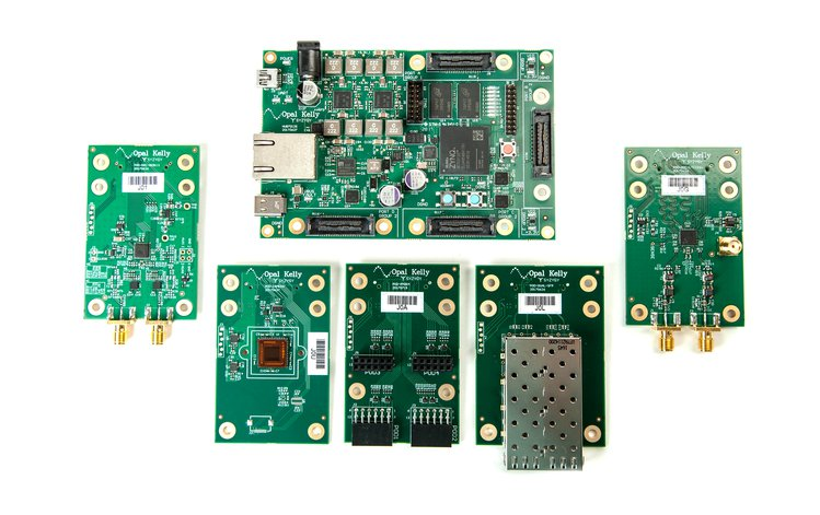 SYZYGY Brain-1 – FPGA development platform featuring the SYZYGY standard