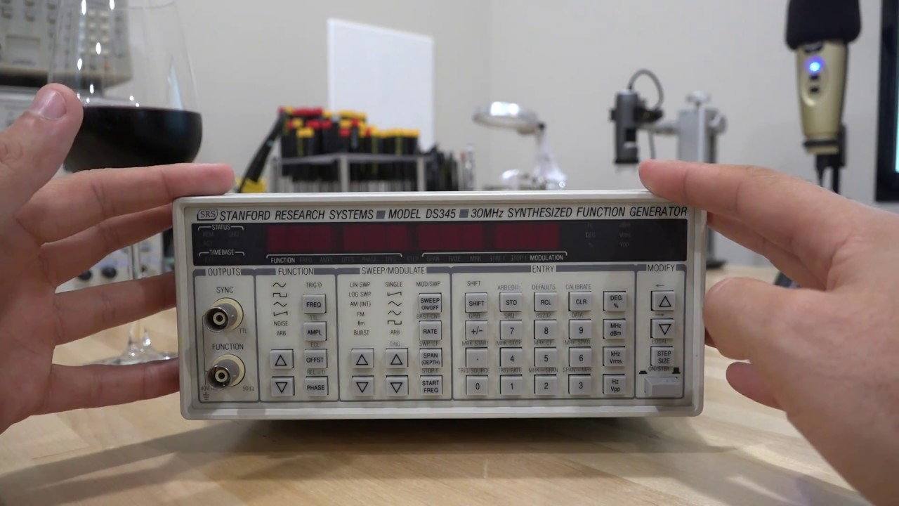 Teardown  U0026 Repair Of A Srs Ds345 30mhz Synthesized Function Generator