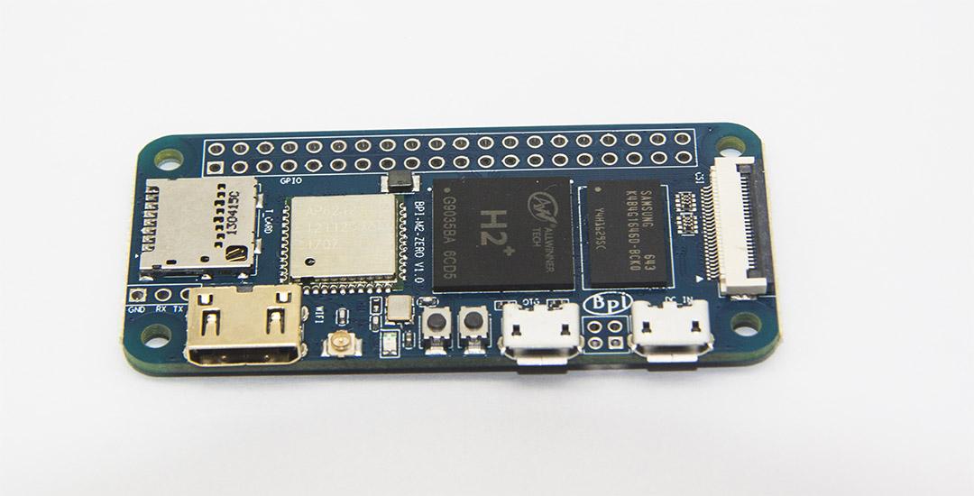 BPi M2 Zero, A Clone of Raspberry Pi Zero