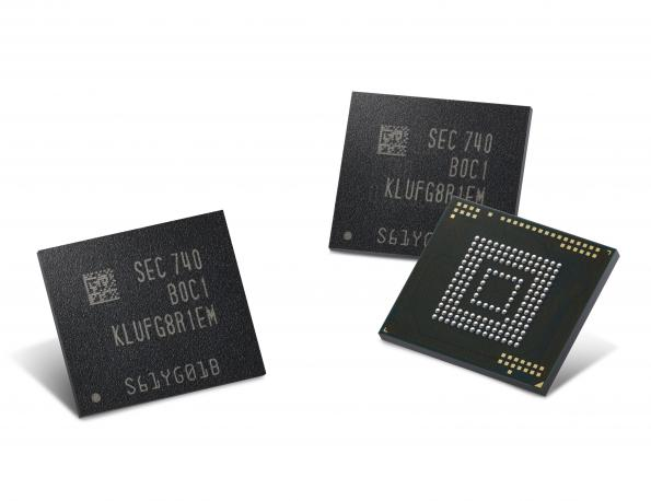 512Gbyte embedded universal flash memory in production