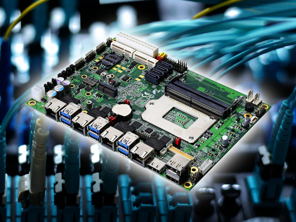 5.25″ SBC with Intel Kaby Lake or Xeon CPU