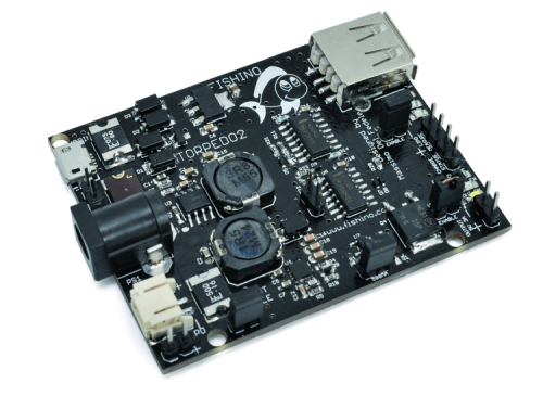 Torpedo 2 – a cheap & powerful 3A DC/DC converter with built-in charger