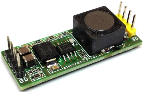 60V input 5V @3A output DC-DC Converter for Industrial and Automotive