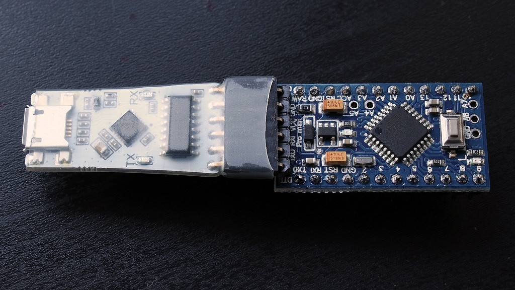 Isolated USB to UART Converter for Arduino Pro Mini