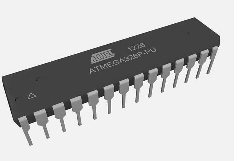 Arduino (Atmega328p) on a Breadboard