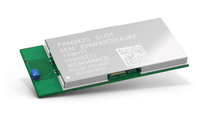 Panasonic PAN9420 is a standalone fully embedded Wi-Fi Module