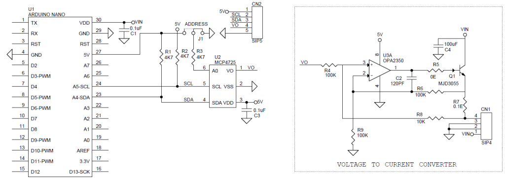 DAC Shield For Arduino Nano using MCP4725 - Electronics-Lab on