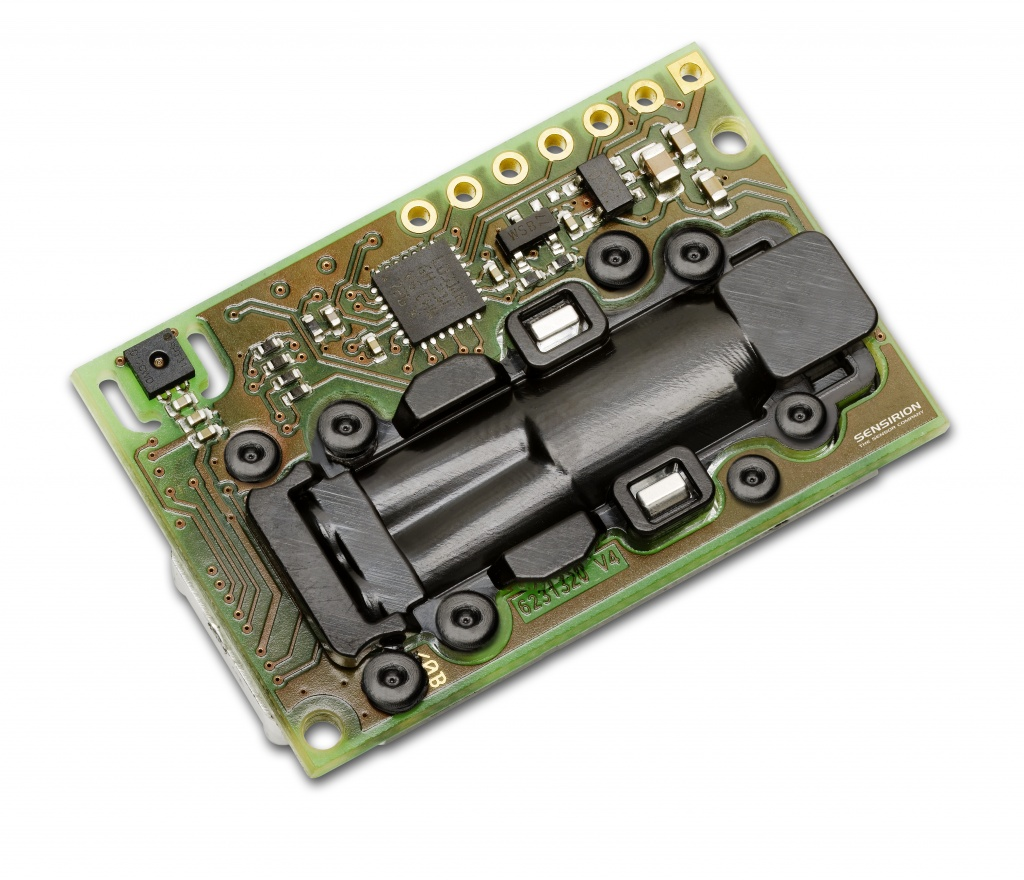 Sensirion presents CO2 and RH/T Sensor Module