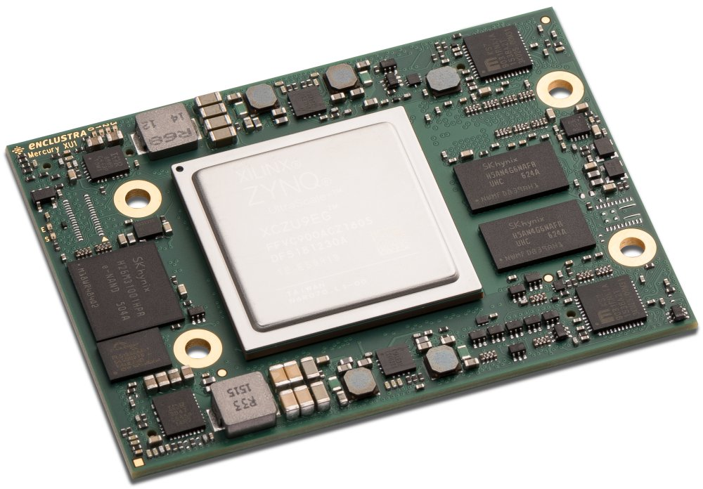 Xilinx Zynq UltraScale+ SoC module smaller than a credit card