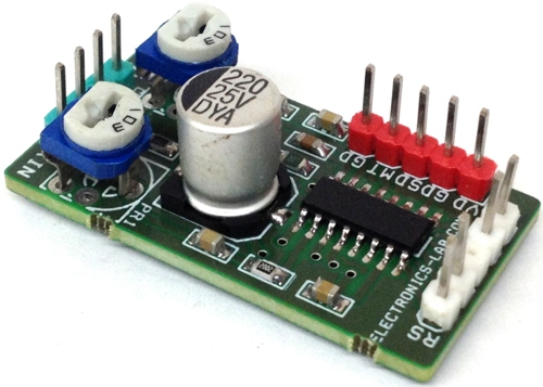 Low Cost/Voltage 3W Class-D Stereo Audio Amplifier for Portable Gadgets