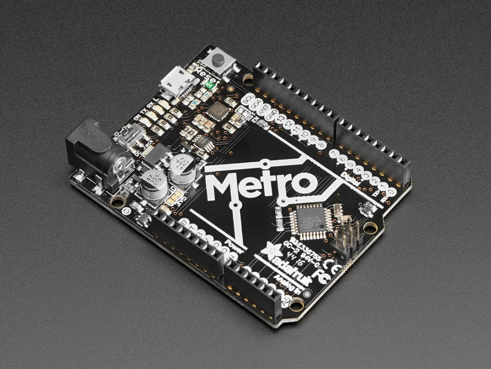 Adafruit Metro 328 – An Arduino Uno Compatible Development Board