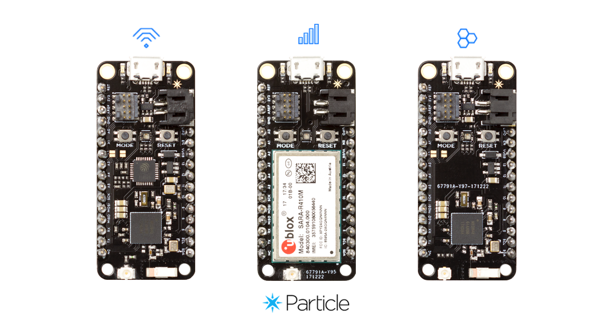 Particle Mesh – A Mesh-Enabled IoT Development Kits.