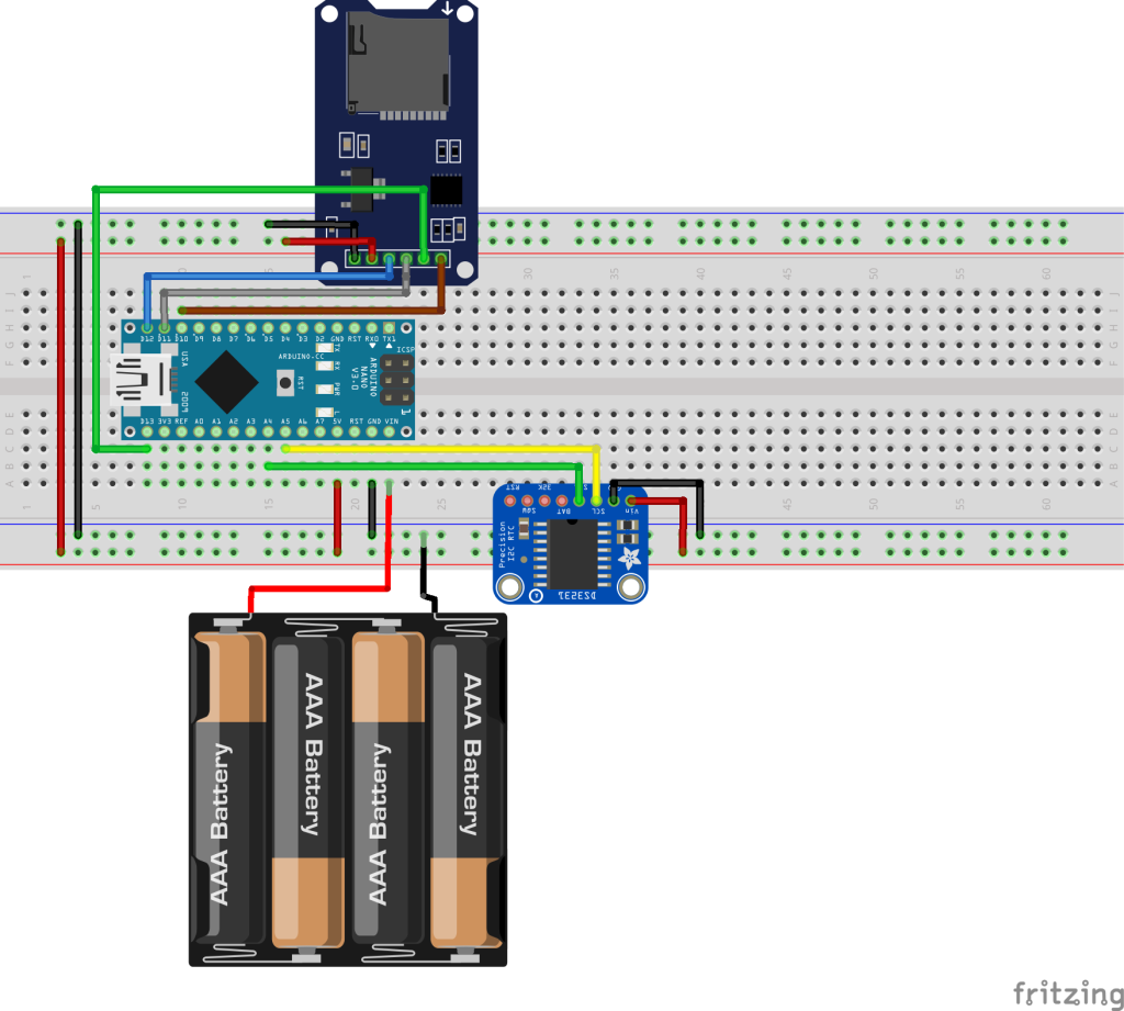 Simple Arduino Data Logger