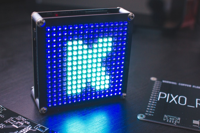 PIXO Pixel – An ESP32 Based IoT RGB Display
