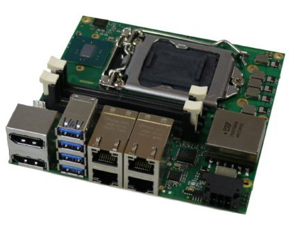 New Powerful Nano-ITX Form Factor ADL120S Single Board Computer For IoT