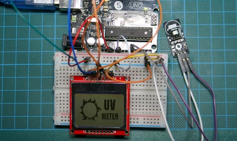 Arduino UV Meter using the UV30A Ultraviolet Sensor