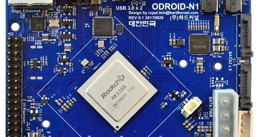 New Odroid-N! based on Rockchip's RK3399