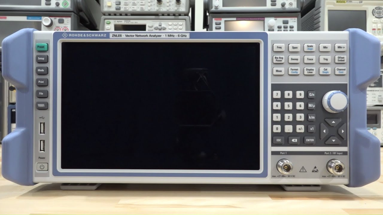 Rohde & Schwarz ZNLE 1MHz – 6GHz Vector Network Analyzer Review, Teardown & Experiments