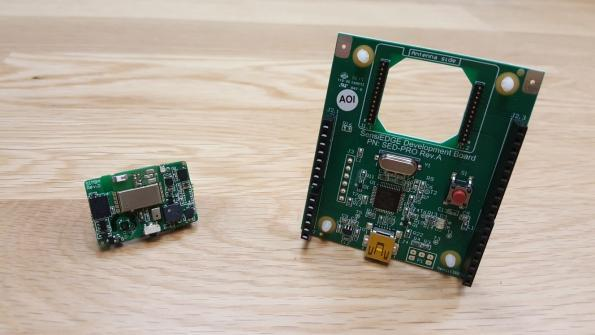 SensiBLEduino – A full fledge 'hardware-ready' development kit for IoT and supports Arduino