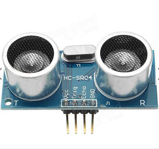 Arduino distance meter with Ultrasonic Sensor (HC SR04) and Nokia 5110 LCD display