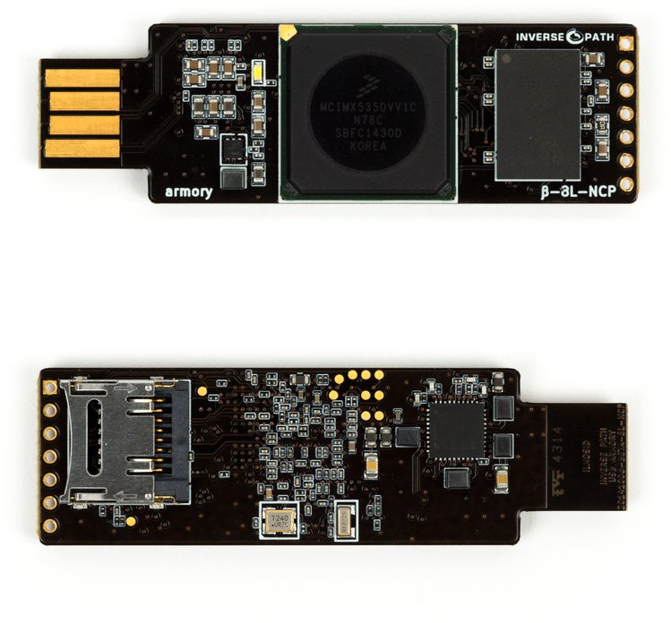 USB Armory: Open Source USB Stick Computer