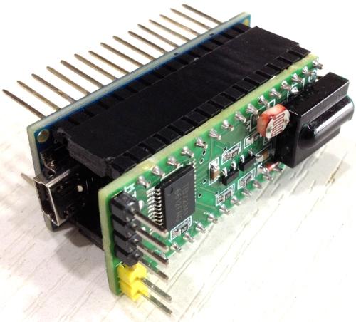 Mini Infra-Red Remote Robot Controller Shield For Arduino Nano