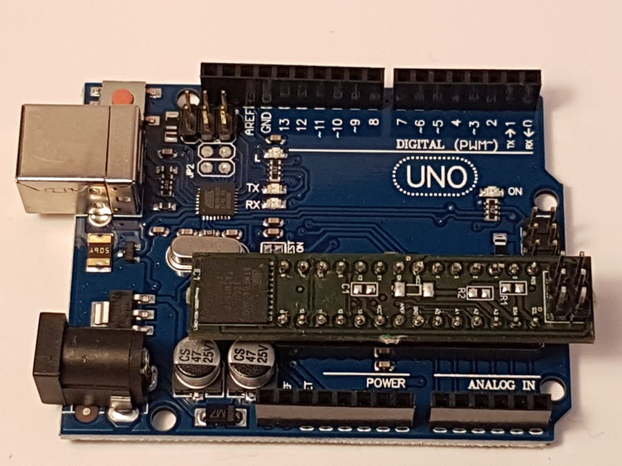 Increase Arduino UNO memory with ATmega2560