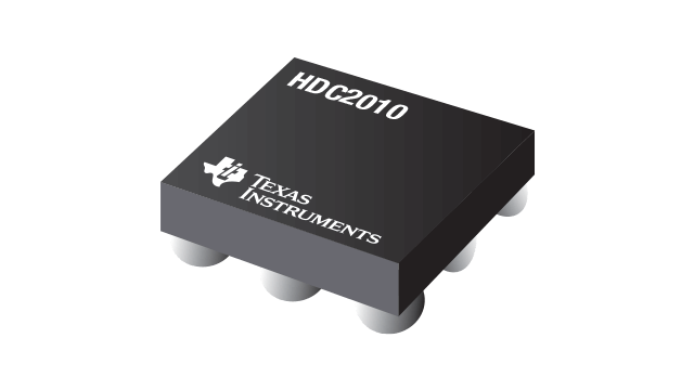 HDC2010 – Low Power Humidity and Temperature Sensor