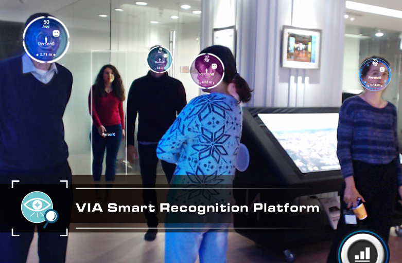 VIA Smart Recognition Module Recognizes Emotion, Face, Age & Gender