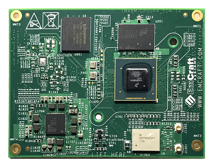 Emcraft's Unveils a i.MX 8M System-On-Module and a $349 Starter Kit