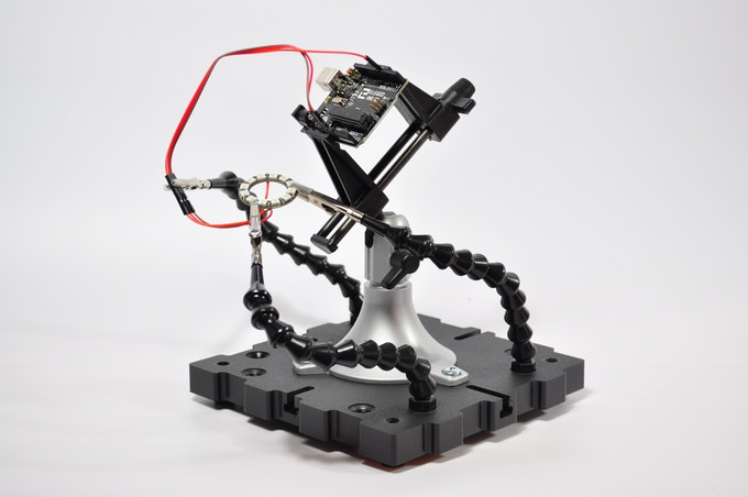 RaptorLoc Pro – A versatile modular third hand system