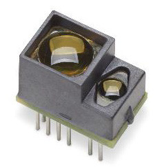 Broadcom AFBR-S50 ToF laser light sensor measures up to 10 meters