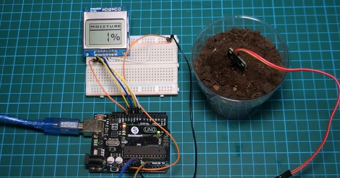 Using a Soil Moisture Sensor with Arduino - Electronics-Lab