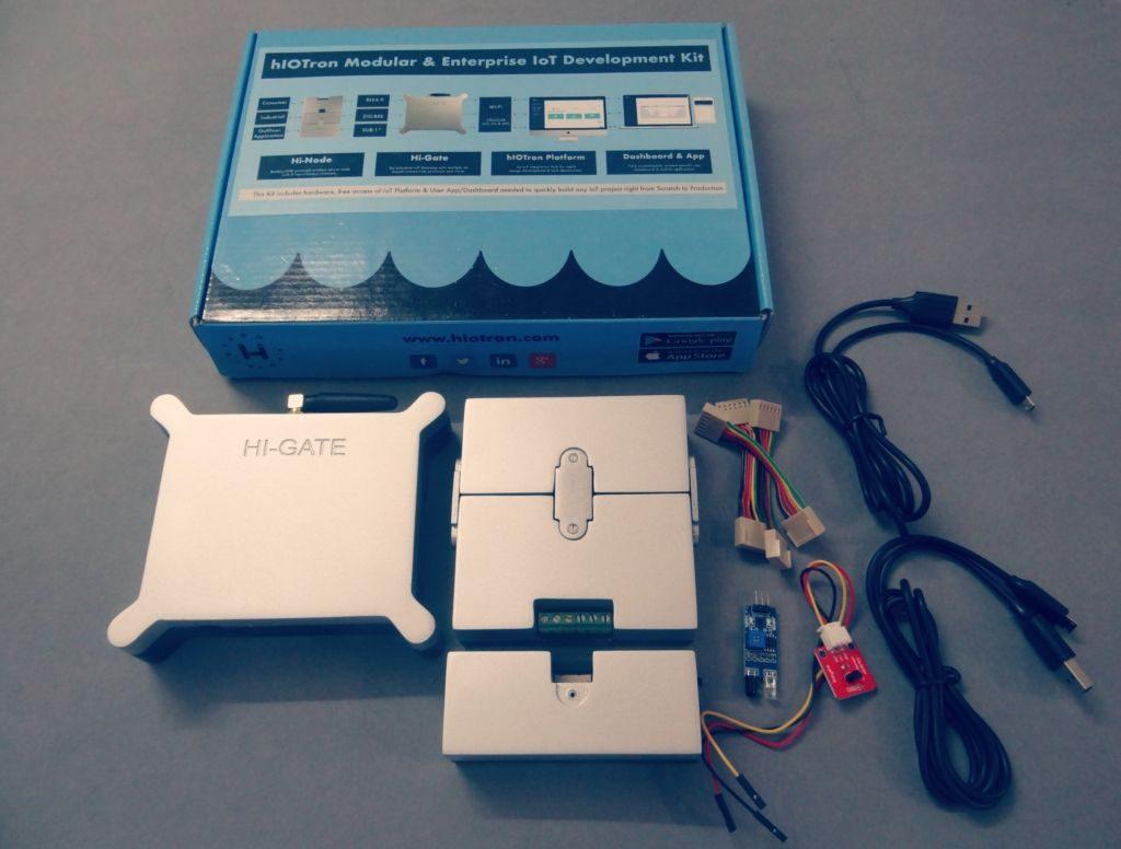 HioTron IoT Kit – A Modular and Enterprise IoT Development Kit