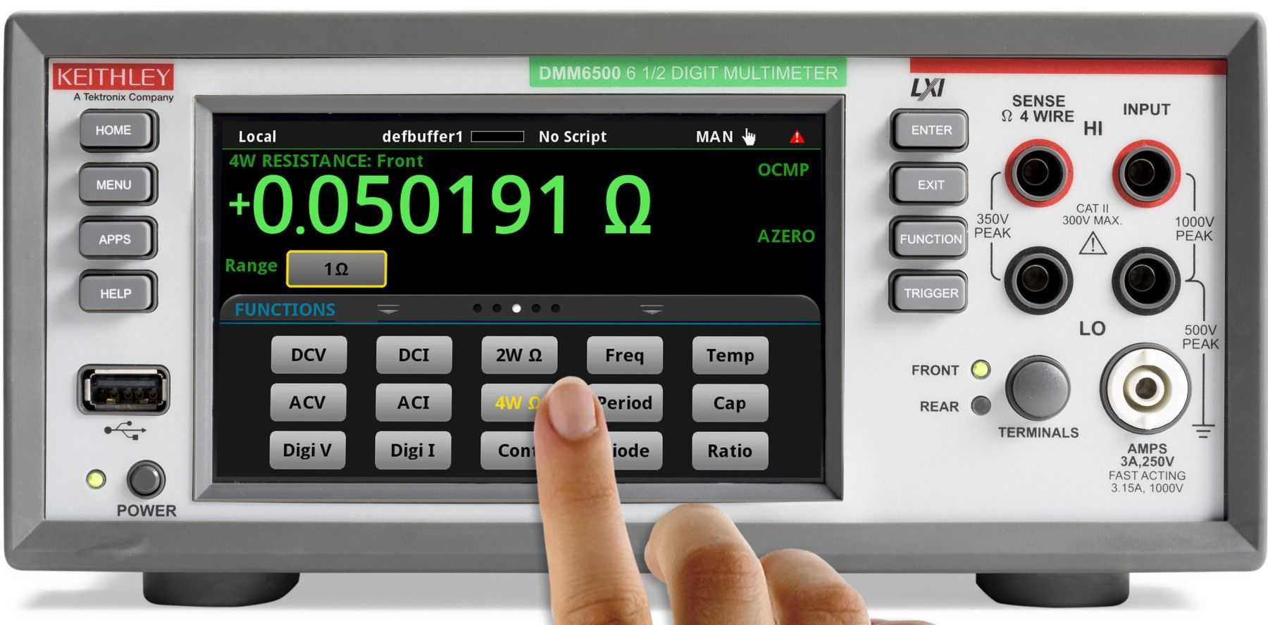 Tektronix Launches Two New 6½-digit DMM and DAQ systems : DMM6500  And DAQ6510