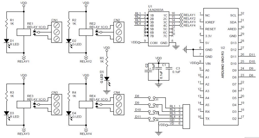 4 Channel Relay Shield for Arduino UNO - Electronics-Lab on arduino bluetooth shield, adafruit trinket schematic, arduino r3 schematic, arduino nano schematic, arduino board schematic, arduino pro schematic, arduino alarm clock, breadboard schematic, arduino mega 2560 schematic, arduino circuit simulator, arduino wallpaper, arduino ethernet schematic, arduino simulator windows, arduino potentiometer wiring, arduino wav player, attiny85 schematic, arduino led projects, arduino shield schematic, arduino i o pins, arduino circuit diagram,