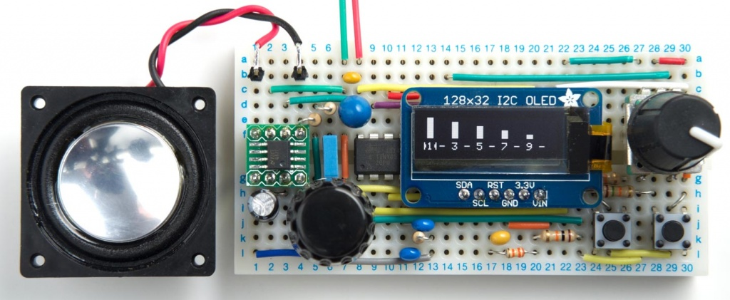 Harmonic Function Generator using ATtiny85