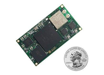 i.MX7 System-On-Module is only 55x30mm