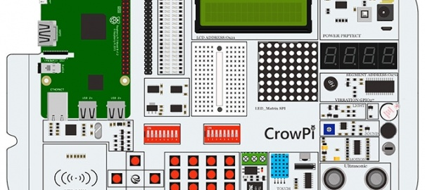 CrowPi Development Board For the Raspberry Pi