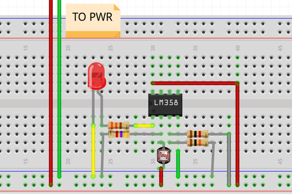 Use a Comparator or Op-Amp to Simplify Light Dependent Resistor ...