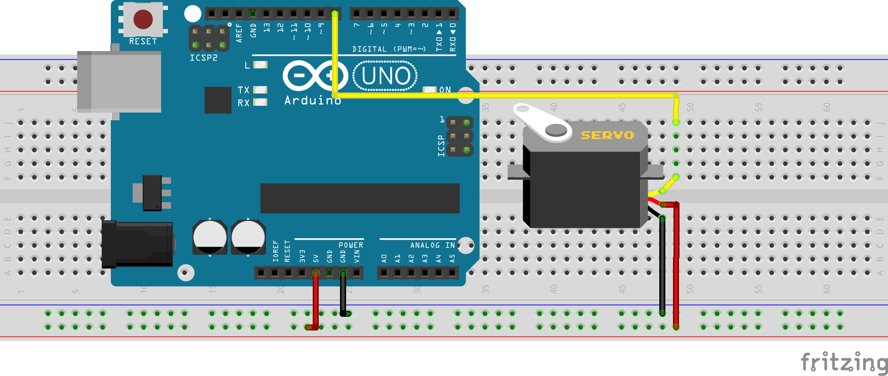 Using The Sg90 Servo Motor With An Arduino