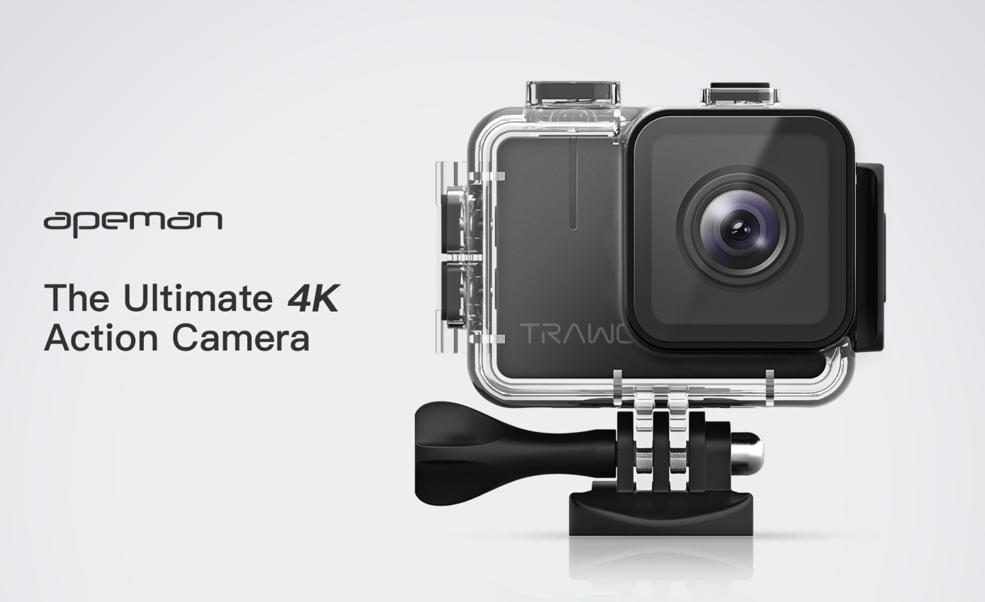 APEMAN TRAWO – A 4K Action Camera with 20MP Photo that fits your budget
