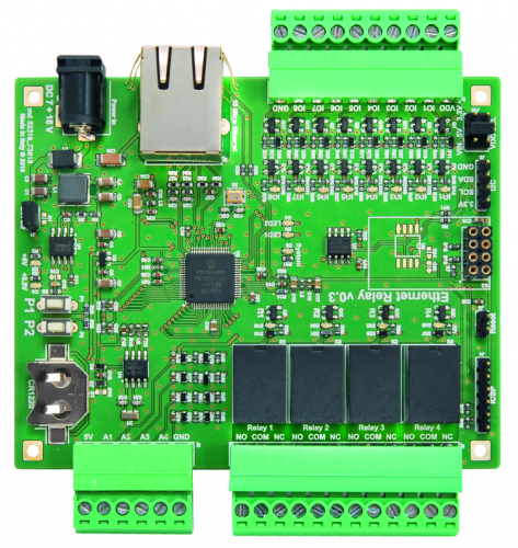 Ethernet Relay board