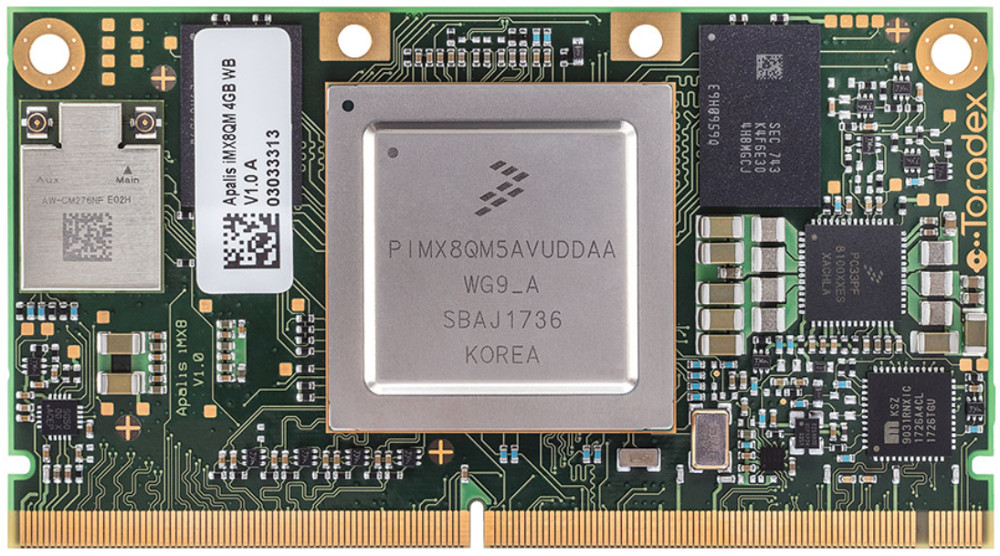 Linux Powered Apalis iMX8 SoM Built On NXP's QuadMax
