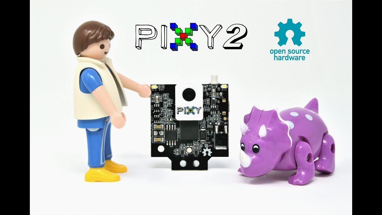 Pixy 2 - Computer Vision at a Whole New Level - Electronics-Lab