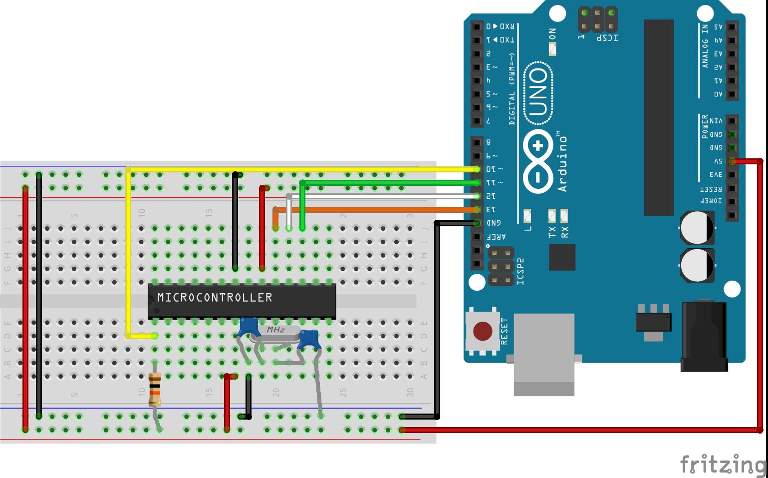Flashing Arduino Bootloader on Atmega328p Microcontroller