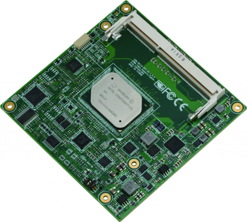 With ECC Memory, the COM-APLC6 can be Relied On to Perform in any Environment